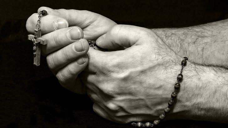 Papež Frančišek moli za zaščito pred zdravim človeškim razumom